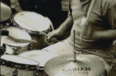 Soundcheck at Johannesburg Drumfest 2005