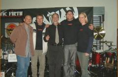 Dom Famularo/Georg Voros clinic tour Johannesburg